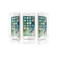 Qdos - verre trempe optiguard glass bord a bord blanc iphone 7 plus