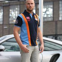 Gulf - Polo Team bleu foncé pour homme taille Xxxl
