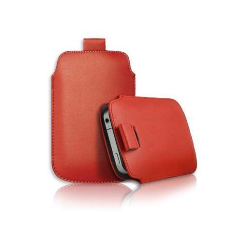 Lapinette - Housse Pochette Compatible Nokia Lumia 625 - Rouge