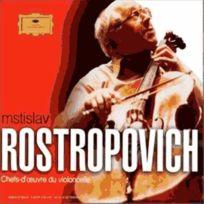 Deutsche Grammophon - Mstislav Rostropovitch - Chefs d'oeuvre du violoncelle : Vivaldi, Tartini, Boccherini