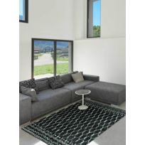 DEZENCO - Tapis de Salon Moderne Design PARMA