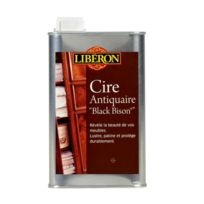 Liberon - Cire antiquaire Black Bison incolore / liquide