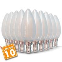 2700k Led 40w Blanc 10 Opaque Ampoules 4w Couleur Chaud De Température E14 400lm Lot Eq 3FuKcTJl1