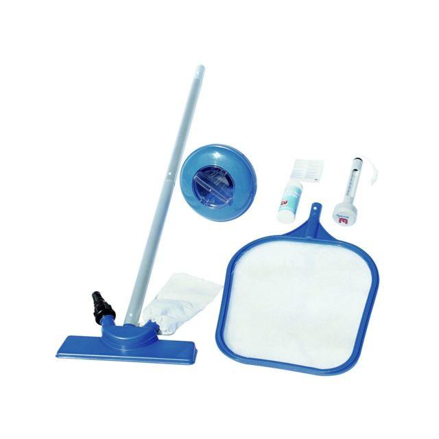 bestway kit nettoyage entretien piscine accessoires set. Black Bedroom Furniture Sets. Home Design Ideas