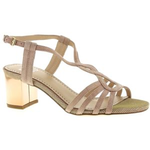 Bibi Lou 927Z30GT Nude - Chaussures Sandale Femme