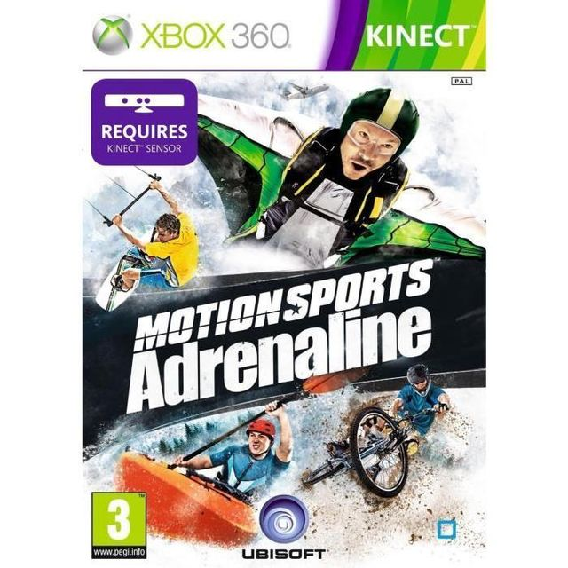 Console Xbox 360 Carrefour: MotionSports Adrenaline
