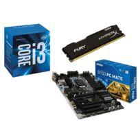RUE DU COMMERCE - Kit EVO INTEL Upgrade I - INTEL Core i3-6100 - MSI B150 PC MATE - 8 Go DDR4 KINGSTON