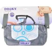 Dooky - 126403 - Lingette - Travel Buddy - Ronds Turquoise