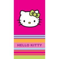 Hello Kitty - drap de plage 085X160 cm 100% coton