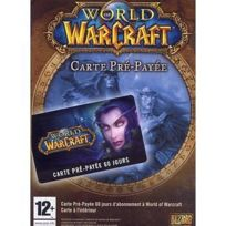 Blizzard - Carte prépayée World of Warcraft 60 jours