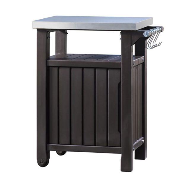 Table d\'extérieur multifonctionnelle de barbecue Unity L 228936