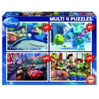 Educa - Puzzle de 50 à 150 pièces : 4 puzzles : Pixar
