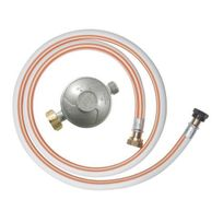 Ribitech - Kit Détendeur à gaz avec tuyau Ø 8x15 - Dg170TV810/B