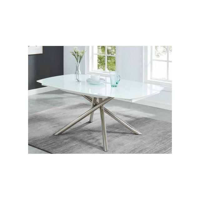 Marque Generique Table A Manger Extensible Camelia 6 A 8