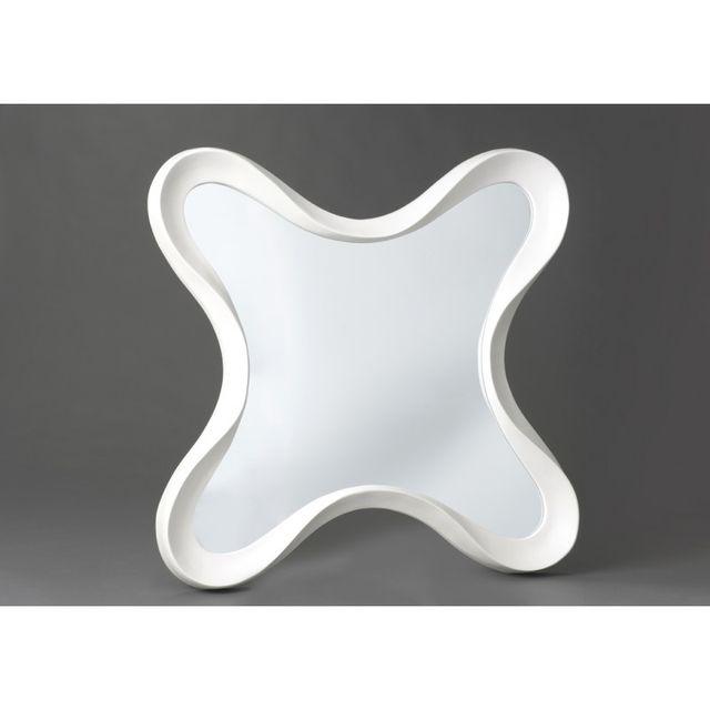 Autre Miroir Strangia Blanc H125