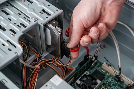 Branchements disque dur SATA