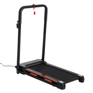 Soldes homcom tapis roulant lectrique de marche 370 w pliable t l commande cran lcd vitesse - Tapis de marche electrique pas cher ...