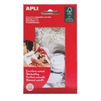 Apli - Etiquette à fil 24 x 15 mm - Boîte de 200