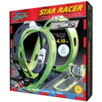 Simm Spielwaren - Darda 50107-CIRCUIT De Course Star Racer, Sls, Mercedes Benz Amg StreckenlÄNGE 410 Cm