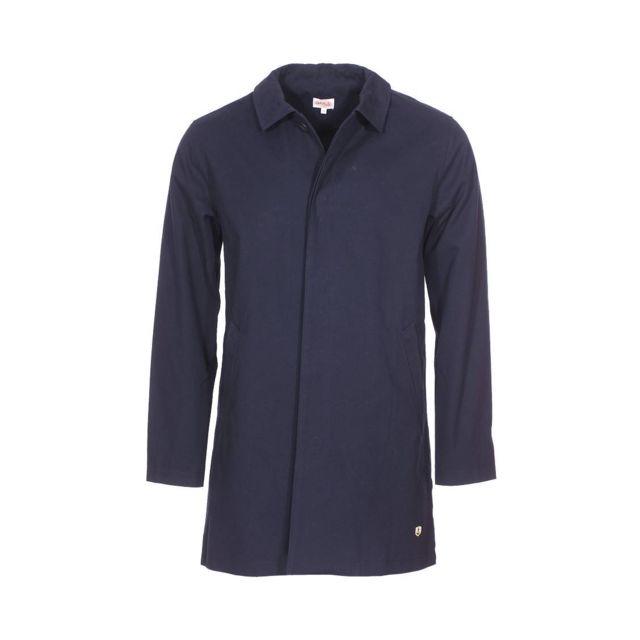armor lux manteau d perlant armor lux en coton bleu. Black Bedroom Furniture Sets. Home Design Ideas