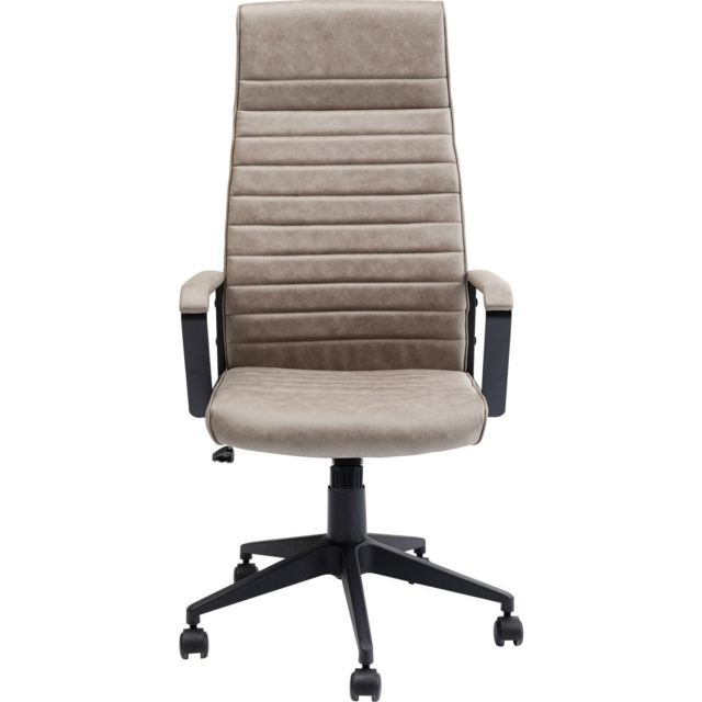 Karedesign Chaise de bureau Labora haute taupe Kare Design
