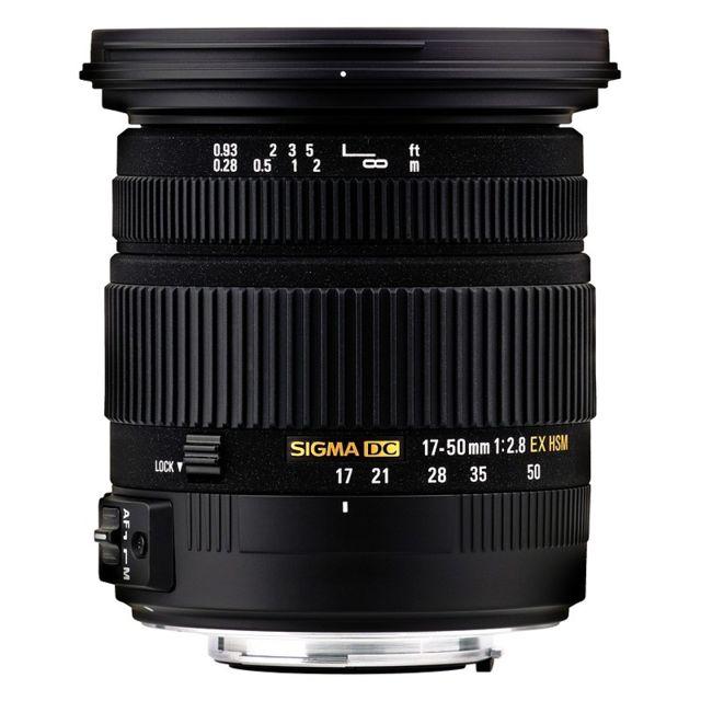 Sigma Objectif 17-50mm F2,8 DC EX HSM Pentax