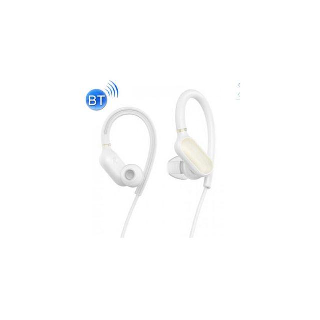 Auto-hightech - Mini écouteur crochet d'oreille Bluetooth Sport , casque étanche Ipx4 Sans Fil avec Contrôle Du Fil, Pour iPhone, Galaxy, Huaw