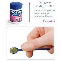 Ceva - Prozym Poudre hygiene bucco-dentaire Prozym Plaqueoff - 180 g - Pour chien