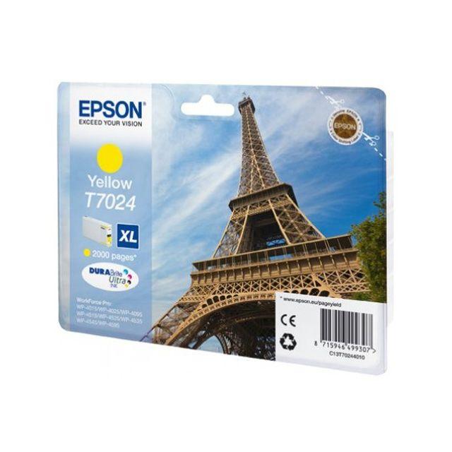 EPSON Cartouche d'encre Jaune XL Tour Eiffel 2 000 pages