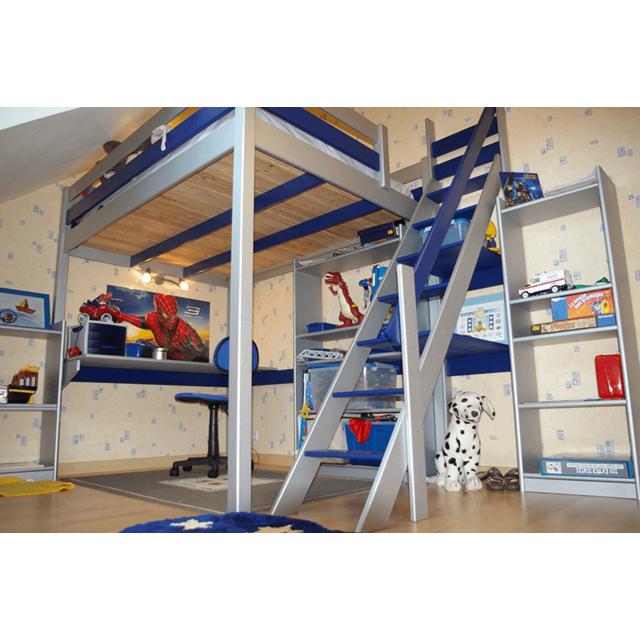 Abc Meubles Lit Mezzanine Sylvia Avec Escalier De Meunier