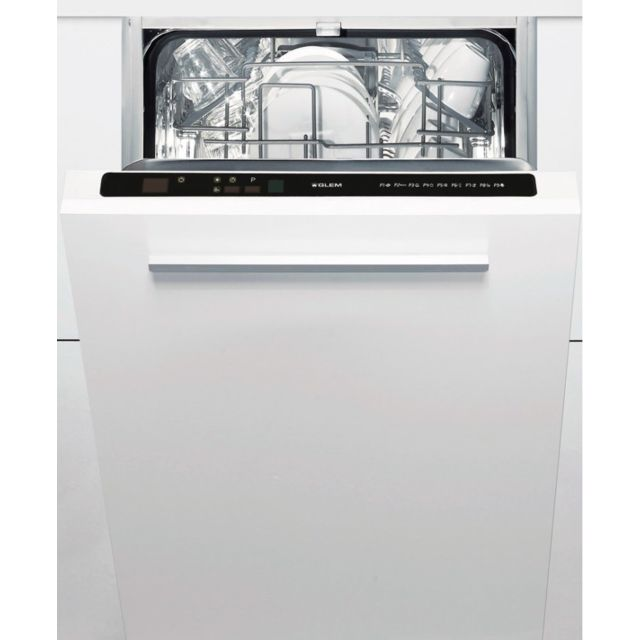 GLEM Lave-Vaisselle 45cm Tout-Intégrable GDI450 GDI 450
