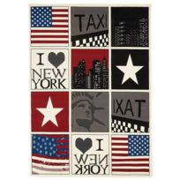 tapis sol new york achat tapis sol new york pas cher. Black Bedroom Furniture Sets. Home Design Ideas
