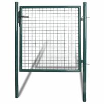 Rocambolesk - Superbe Portail pour clôture en acier laqué neuf