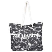 Billabong - Sac de plage noir et blanc Off Black
