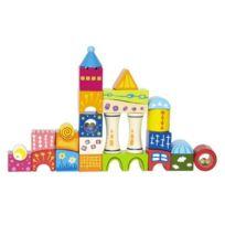 Hape Preschool - 3602613 - Jeu De Construction - ChÂTEAU En Cube - 22 PiÈCES