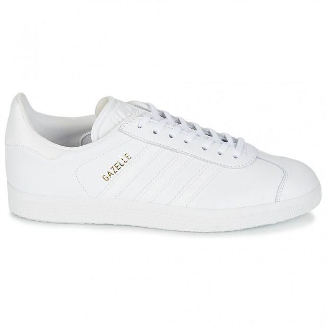 adidas gazelle blanche en cuir
