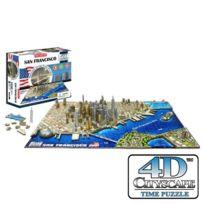 4D Cityscape - Puzzle 4 Dimensions San Francisco - 4DCityScape