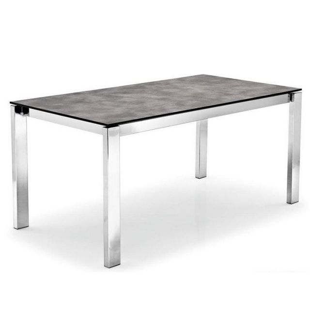 Inside 75 table repas extensible baron 110x70cm en for Table extensible effet beton
