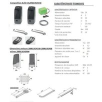 Cardin - Kit automatisme à bras droits, encodeur 24V, pr portails battants