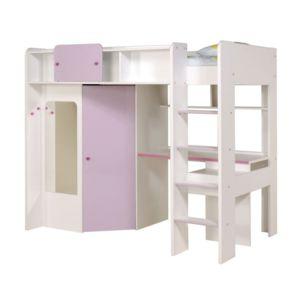 Soldes paris prix lit sur lev missy 90 x 200 cm pas cher achat vente l - Lit mezzanine en solde ...