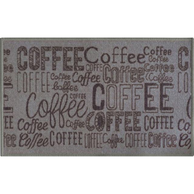 Pegane Tapis De Cuisine En Polyamide Decor Coffee Dim 44 X