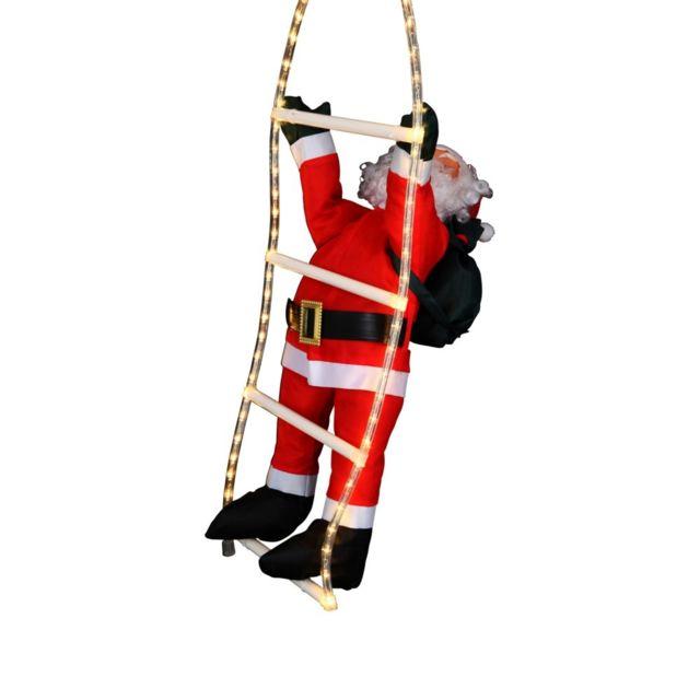Père Noël grimpeur 54 Led