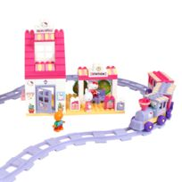 Androni - construction hello kitty - train - 95 pieces