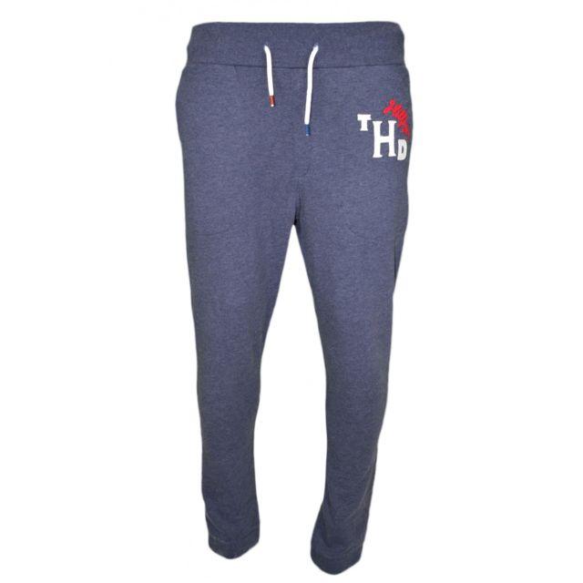 Tommy hilfiger - Pantalon jogging bleu marine pour homme - pas cher ... da217ff0d91
