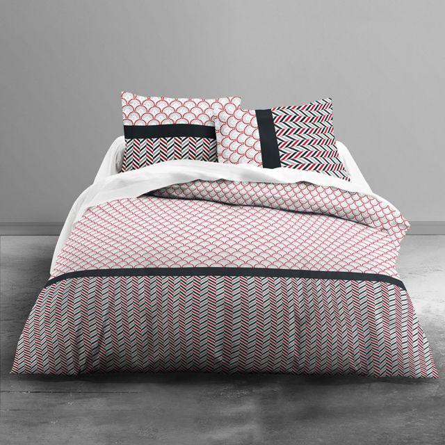 sans marque housse de couette 200 x 200 cm taies. Black Bedroom Furniture Sets. Home Design Ideas