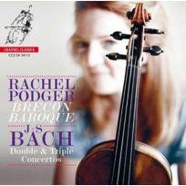 Pentatone - Johann Sebastian Bach - Double et triple concerto pour violon Boitier cristal