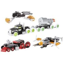Hot Wheels - Véhicule Miniature et Circuit Custom Motors Attaque Furtive