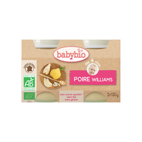 Babybio - Pots Poire Williams dés 4 mois