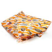 MAISON FUTEE - Sac à pain et viennoiserie 100% coton - 25 x 68 cm