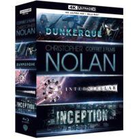 WARNER BROS - Coffret Christopher Nolan : Inception + Interstellar + Dunkerque